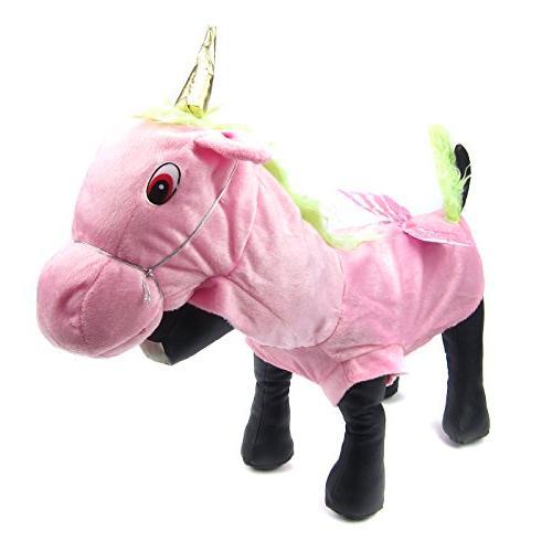 Alfie Pet by Petoga Couture - Kameron Unicorn Costume - Size