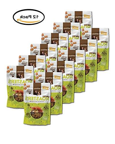 PACK OF 12 - Rachael Ray Savory Roasters Dog Treats, Roasted