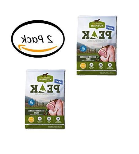 PACK OF 2 - Rachael Ray Nutrish PEAK Natural Dry Dog Food, G