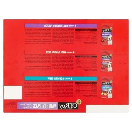 PACK OF 5 - Ol' Roy Mini Gravy Wet Dog Oz, 12