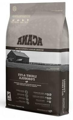 Acana Heritage Light & Fit Formula Grain Free Dog Food