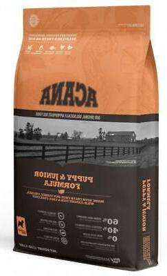 Acana Heritage Puppy & Junior Formula Grain Free Dog Food