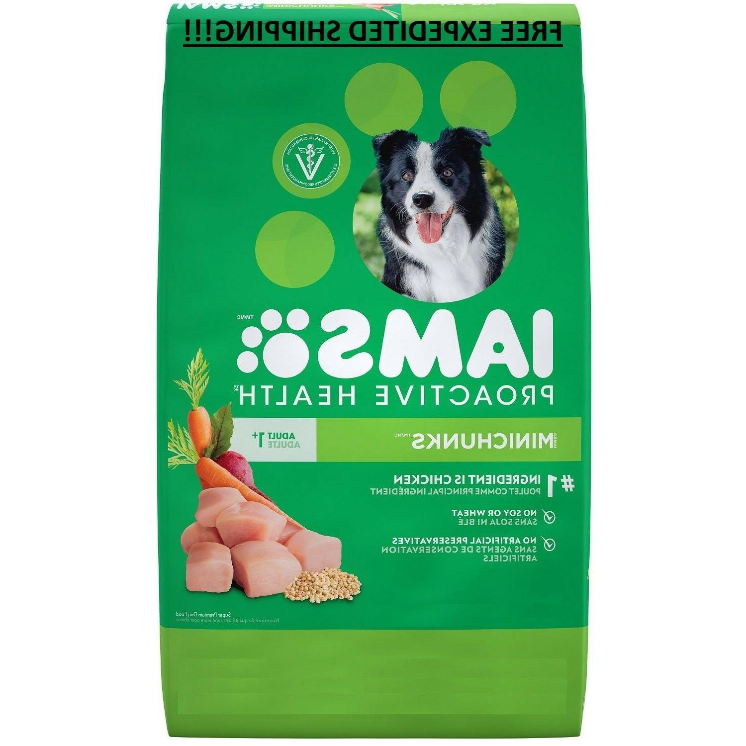 Iams ProActive Health Minichunks Chicken Food