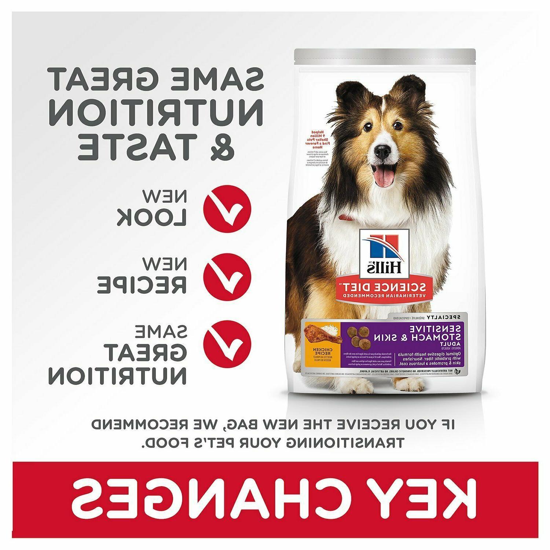 Hill's Sensitive Chicken Recipe Dry Food