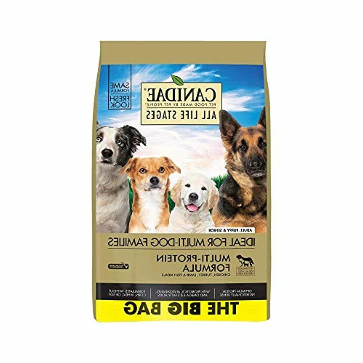 all life stages dog dry food
