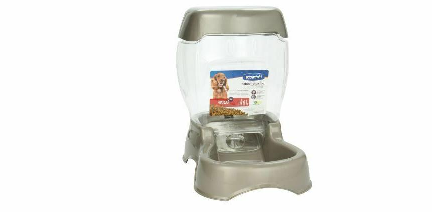auto pet feeder for dogs cats food