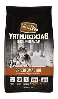 Merrick Backcountry Big Game Dry Dog Food, 22 lbs.