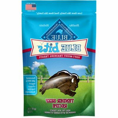 Blue Buffalo Blue Bits Beef Dog Training Treats, 4 oz.