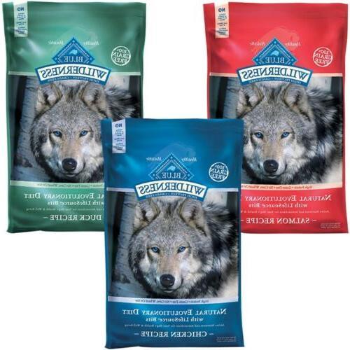 blue buffalo wilderness grain free dry dog