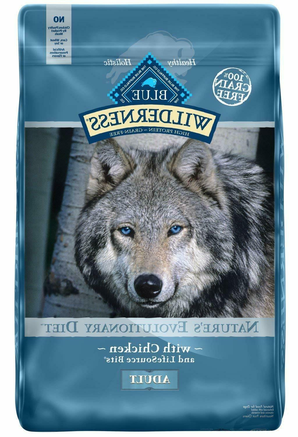 Blue Buffalo Wilderness High Protein Grain Free Natural Adul
