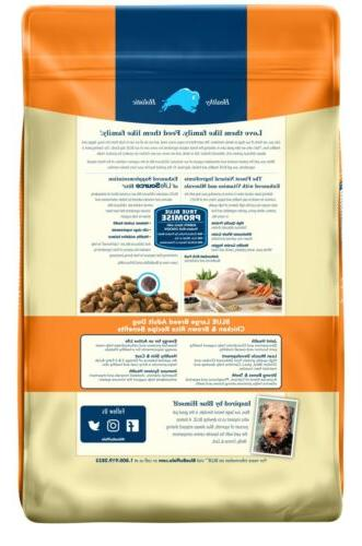 BLUE Life Breed - Brown Rice lb