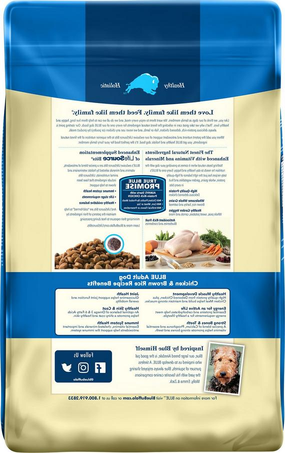 BLUE Protection Adult Food Chicken & Brown - 30lbs