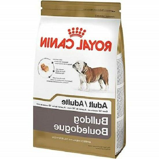 Royal Canin Breed Health Nutrition Bulldog Adult Dry Dog Foo