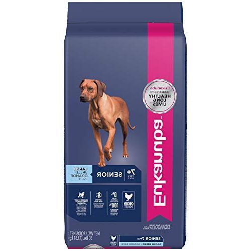 breed senior dry dog food