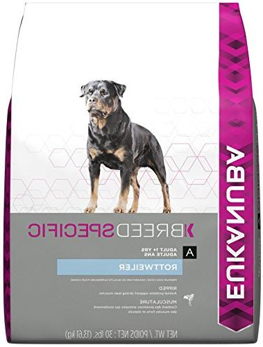 breed specific rottweiler dog food