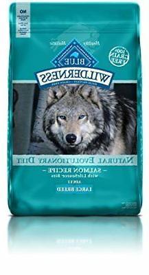 Blue Buffalo Large Breed Wilderness Salmon Adult Dry Dog Foo
