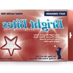Bright Bites Daily Dental Tasty Cinnamon Flavor Small Dog Tr