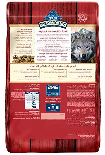 Blue Mountain Recipe High Protein Grain Free, Dry Meat 22-lb