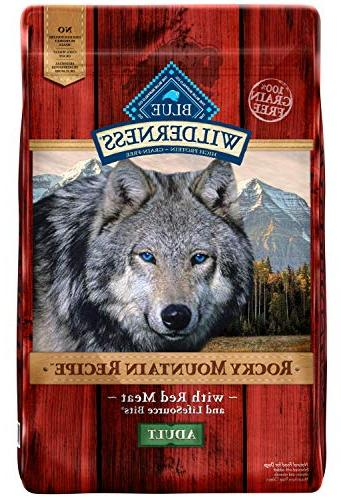 Blue Mountain High Grain Adult Dry Dog Food, Meat 22-lb