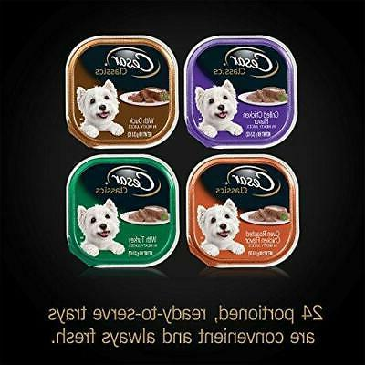 : CESAR Wet Dog Poultry Variety oz.