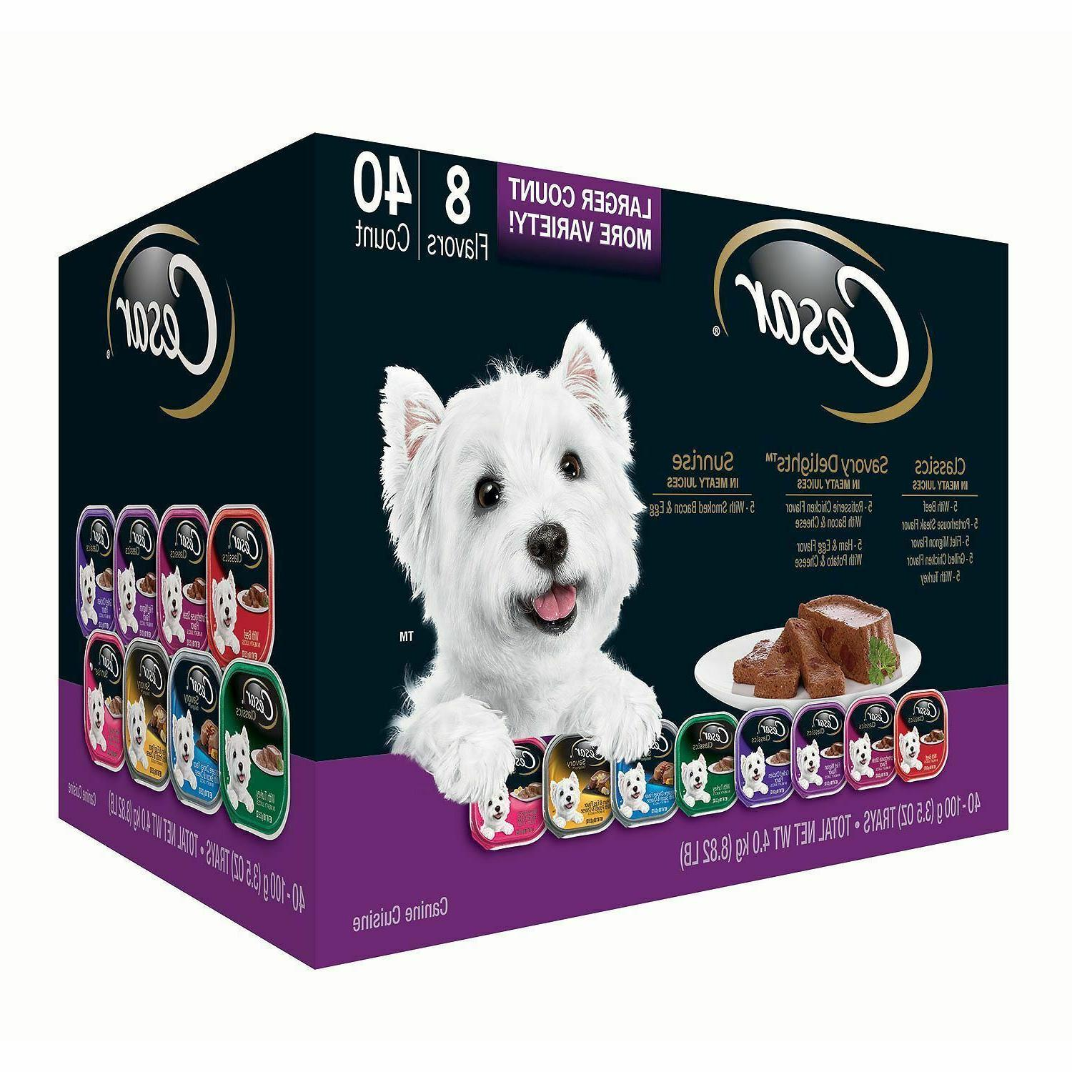 canine cuisine wet dog food variety pack