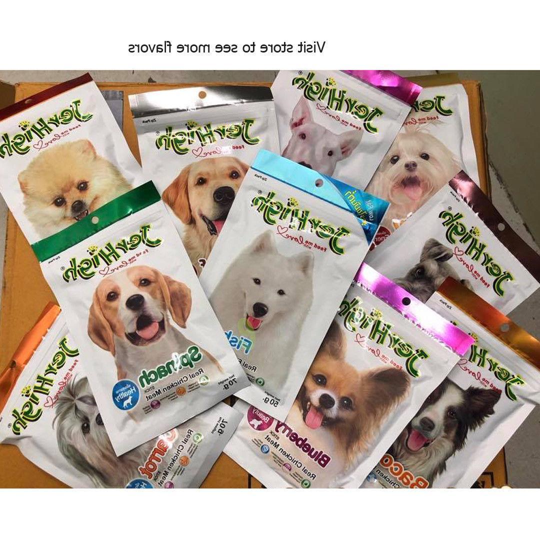 JerHigh Carrot Dog Puppy Treats Chew Vitamin 70g