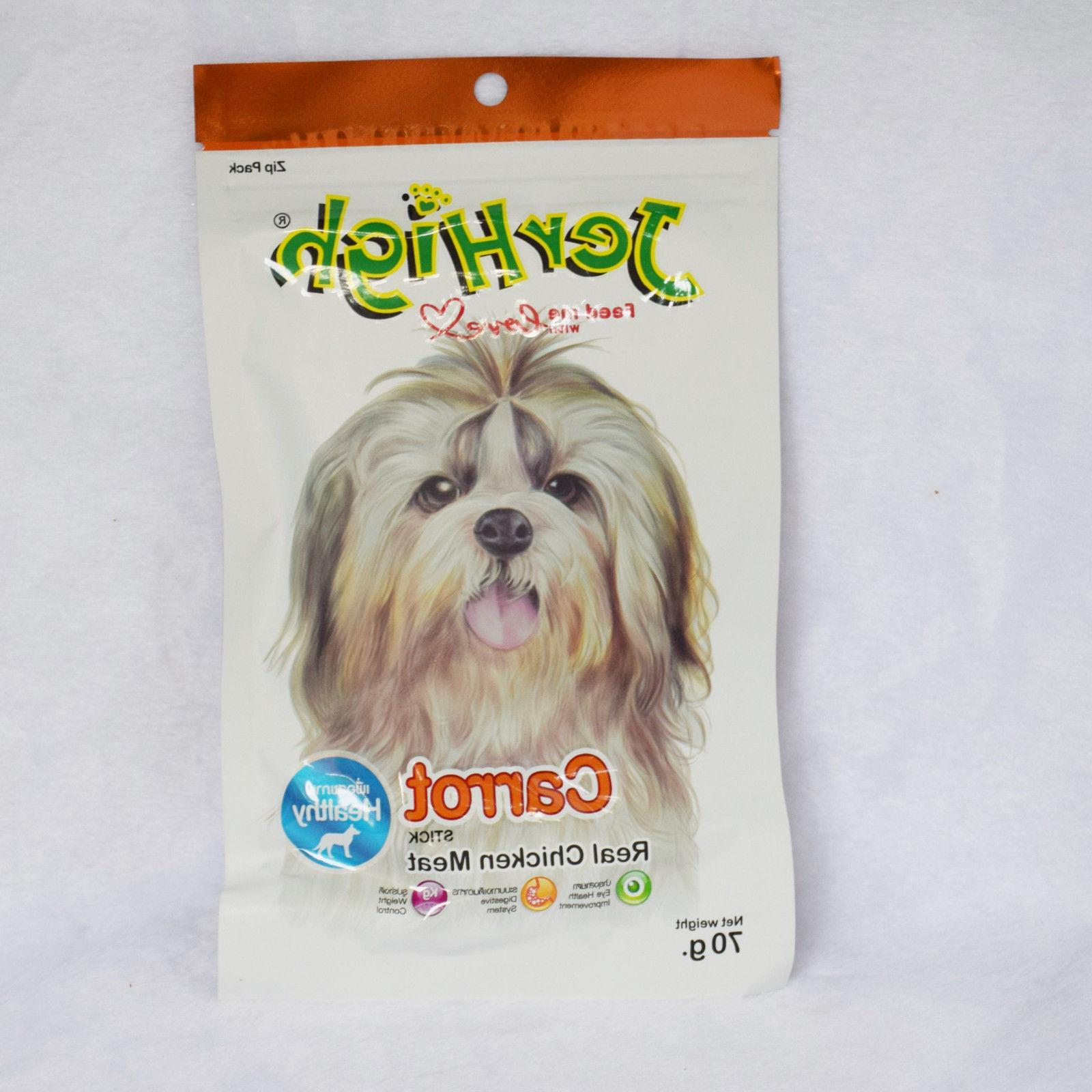 carrot stick dog puppy treats chew multi