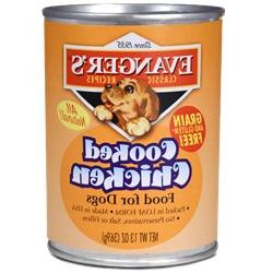 Evanger's All Natural Classic Cooked Chicken Canned Dog Food