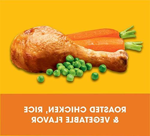 Pedigree Complete Adult Dry Dog Food Roasted Chicken, & Vegetable Flavor, Bag