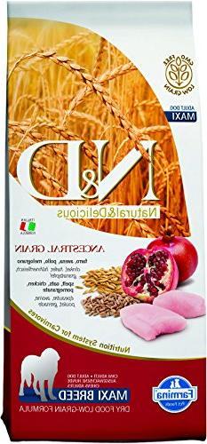 Farmina Natural Delicious Chicken Ancestral Low-Grain Formul