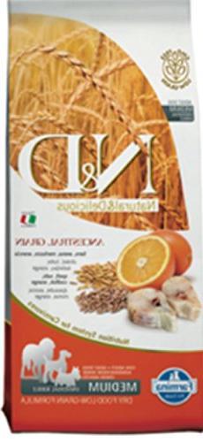 Farmina Natural and Delicious Cod and Orange Low-Grain Formu
