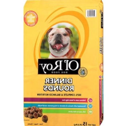 dinner rounds dry dog food