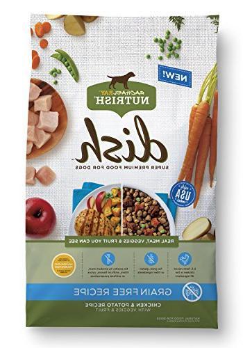 dish dry dog food