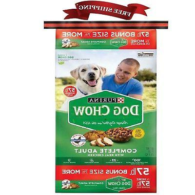dog chow complete adult chicken dry dog