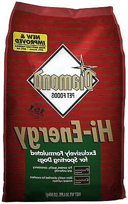 DIAMOND PET FOODS Dog Food, Hi-Energy, 50-Lbs. Bag 10050