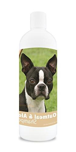 Healthy Breeds Dog Oatmeal Shampoo with Aloe for Boston Terr