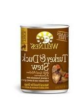 WELLNESS DOG FOOD STW TRKY DCK SWT PTO, 12.5 OZ