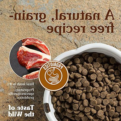 Taste the Wild Sierra Dog Food with Lamb