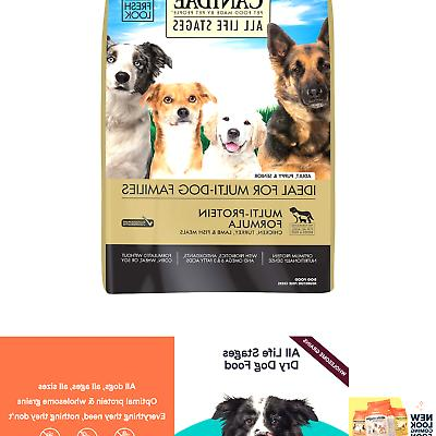 dry dog food life stages