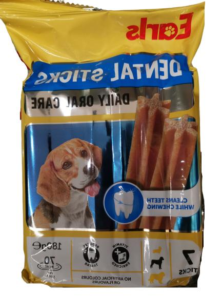 earls dog treats dental sticks oral care