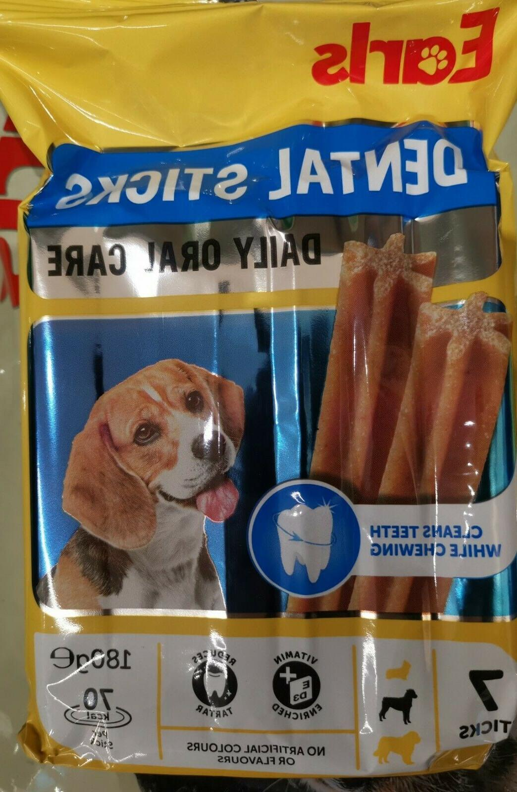Earls Dog Treats Dental Sticks Food stick