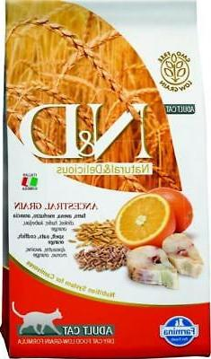 Farmina Natural & Delicious Cod & Ancestral Low Grain Cat Fo