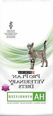 Purina Veterinary Diets Feline Hypoallergenic  Dry Cat Food