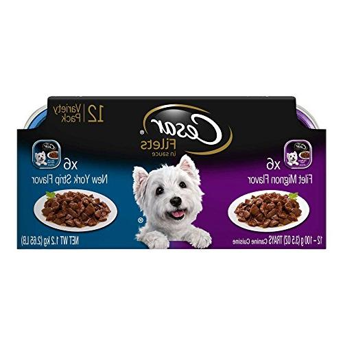 CESAR GOURMET FILETS Variety New Dog Food