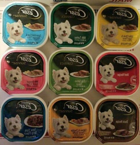 gourmet wet dog food variety packs 38trays