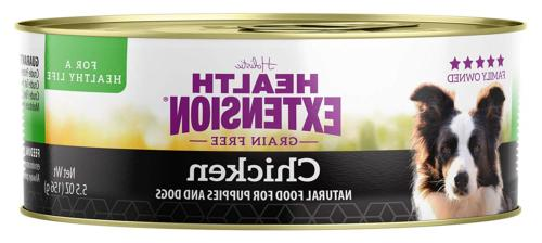 Health Extension Grain Free 95% Chicken 5.5-Ounces, Case Of