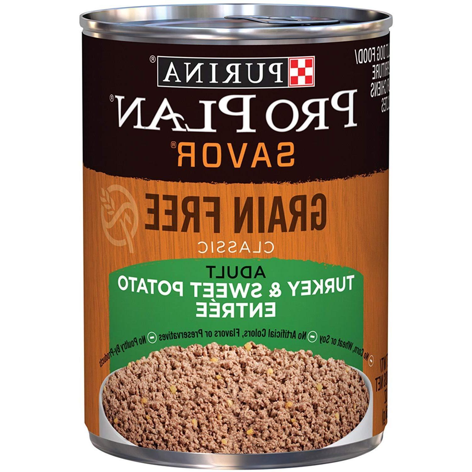 grain free adult canned wet dog food