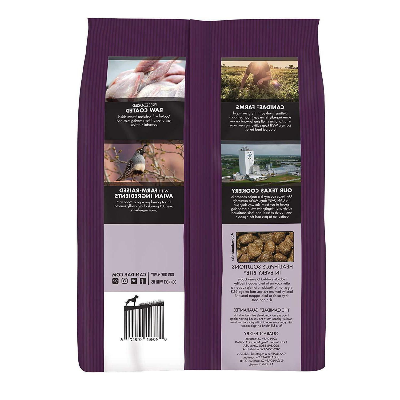 Canidae Grain Free Pure Ancestral Dry Quail, & Pound