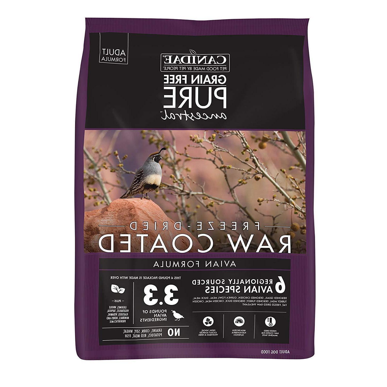 grain free pure ancestral dry dog food