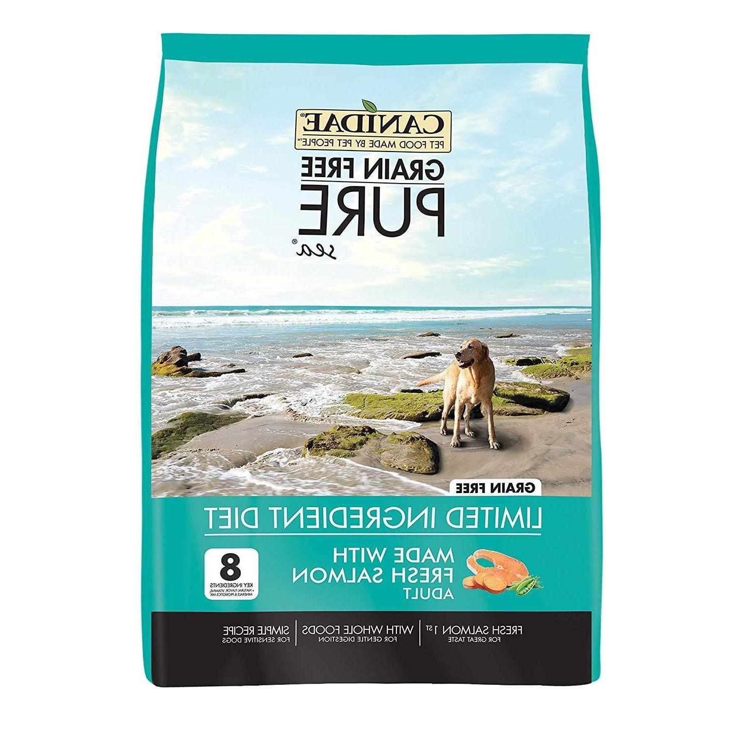grain free pure sea with salmon l